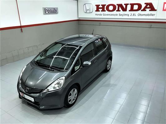 Honda Jazz 14 Joy Plus Cvt 2012 Model Koyu Gri Ikinci El Satılık